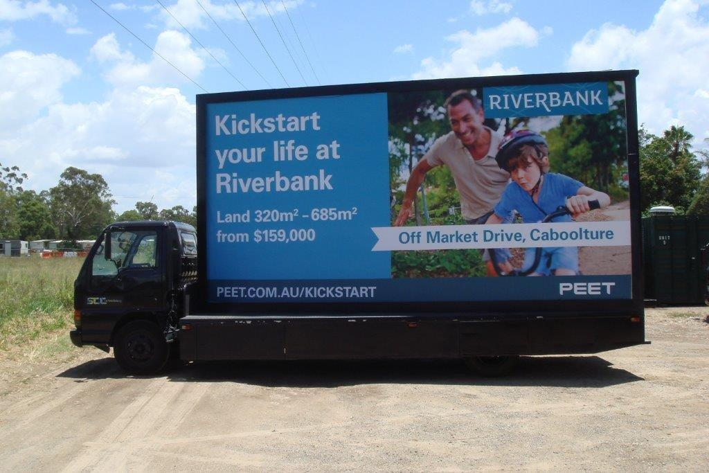 Mobile Advertising Brisbane - Billboards on the move